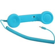 Twins Retrophone+ (Volume Control), blau