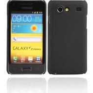 Twins Shield Matte für Samsung i9070 Galaxy S Advance, schwarz