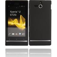 Twins Shield Matte für Sony Xperia U, schwarz