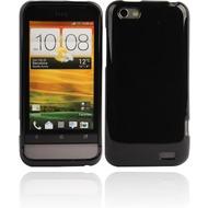 Twins Bright für HTC One V, schwarz