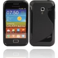 Twins Fancy Bright für Samsung S7500 Galaxy Ace Plus, schwarz