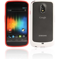 Twins 2Color Bumper f�r Samsung i9250 Galaxy Nexus, rot-wei�
