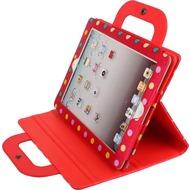 Twins Painty Dots für iPad 2 /  3, rot
