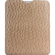 Twins Coarse Pouch für iPad 2/ 3, braun