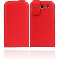 Twins Flip-Flap für Samsung Galaxy S3, rot