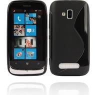 Twins Fancy Bright für Nokia Lumia 610, schwarz