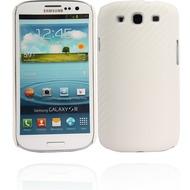 Twins Carbon für Samsung Galaxy S3, weiß