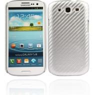 Twins Carbon für Samsung Galaxy S3, silber