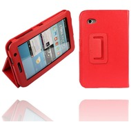 Twins Leder Folio für Samsung Galaxy Tab 2, 7.0, rot