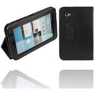 Twins Leder Folio für Samsung Galaxy Tab 2, 7.0, schwarz