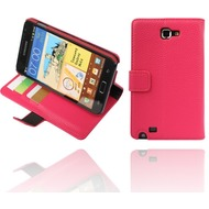 Twins Premium BookFlip f�r Samsung Galaxy Note N7000, pink