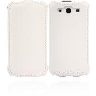 Twins Snake Flip für Samsung Galaxy S3, weiß
