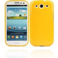 Twins Glamour für Samsung Galaxy S3, gelb