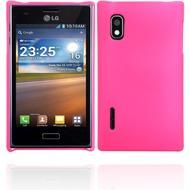 Twins Shield Matte für LG Optimus L5, pink