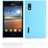 Twins Shield Matte für LG Optimus L5, himmelblau