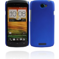 Twins Shield Matte für HTC One S, blau