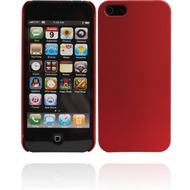 Twins Shield Matte für iPhone 5/ 5S/ SE, rot