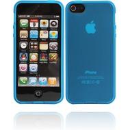 Twins Bright Matte für iPhone 5/ 5S/ SE, blau