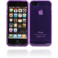 Twins Bright für iPhone 5/ 5S/ SE, lila-transparent