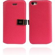 Twins BookFlip Excellence für iPhone 5/ 5S/ SE, pink