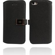 Twins BookFlip Excellence für iPhone 5/ 5S/ SE, schwarz