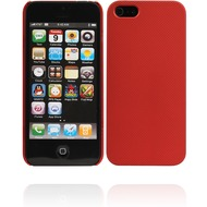 Twins Shield Mesh für iPhone 5/ 5S/ SE, rot