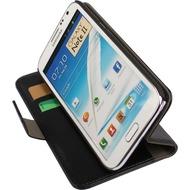 Twins Premium BookFlip für Samsung Galaxy Note 2, schwarz