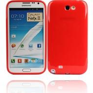 Twins Bright für Samsung Galaxy Note 2, rot