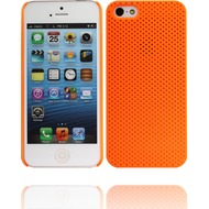 Twins Perforated für iPhone 5/ 5S/ SE, orange