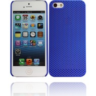 Twins Perforated für iPhone 5/ 5S/ SE, blau