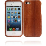 Twins Real Wood für iPhone 5/ 5S/ SE, dunkel