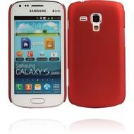 Twins Shield Matte für Samsung S7562 Galaxy S DUOS, rot