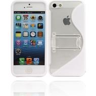 Twins Convenience für iPhone 5/ 5S/ SE, weiß-transparent