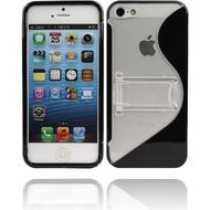 Twins Convenience für iPhone 5/ 5S/ SE, schwarz-transparent
