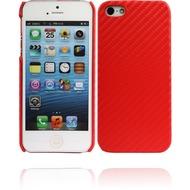 Twins Carbon für iPhone 5/ 5S/ SE, rot