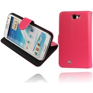 Twins BookFlip Pro für Samsung Galaxy Note 2, pink