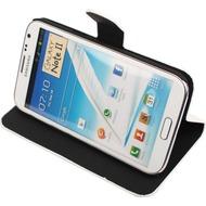 Twins BookFlip Shine für Samsung Galaxy Note 2, weiß