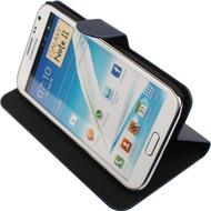 Twins BookFlip Shine für Samsung Galaxy Note 2, blau