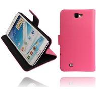 Twins BookFlip für Samsung Galaxy Note 2, pink