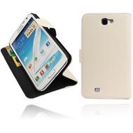 Twins BookFlip für Samsung Galaxy Note 2, weiß