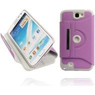 Twins Folio Stand 360 für Samsung Galaxy Note 2, violett