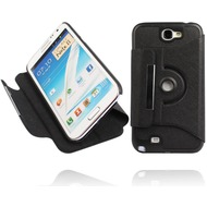 Twins Folio Stand 360 für Samsung Galaxy Note 2, schwarz