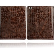 Twins Croco Folio iPad 4, braun