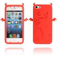 Twins Devil 2 für iPhone 5/ 5S/ SE, rot