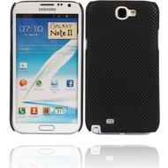Twins Perforated für Samsung Galaxy Note 2, schwarz