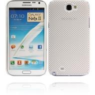 Twins Perforated für Samsung Galaxy Note 2, weiß