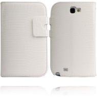 Twins NuBookFlip Croco für Samsung Galaxy Note 2, weiß
