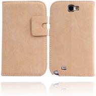 Twins NuBookFlip für Samsung Galaxy Note 2, hell-braun