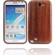 Twins Real Wood für Samsung Galaxy Note 2, dunkelbraun