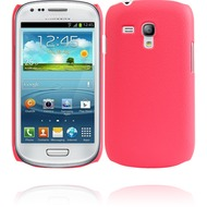 Twins Shield Leather für Samsung Galaxy S3 mini, pink